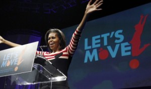 For Michelle Obama, the resistance in her Let's Move initiative has not only come from kids that want to eat Dorito's and play Xbox all day.