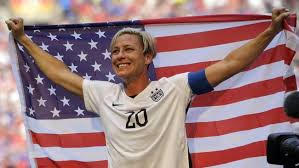 Abby Wambach attributes some of the skills she developed in soccer to playing a variety of sports as a kid